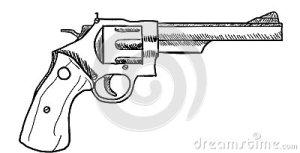 revolver-drawing-clip-art-gun-36171494