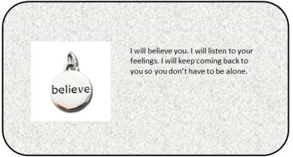 Card - Believe