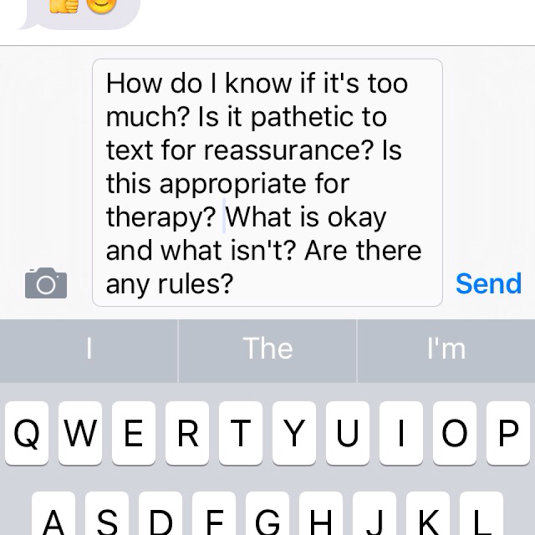 What Are Rules For Texting With Therapist? #therapy #depression laquemada.org