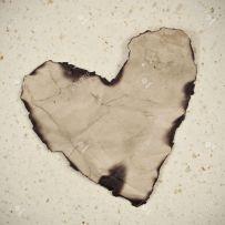 Burnt Heart - corazon quemado - #healing - laquemada.org