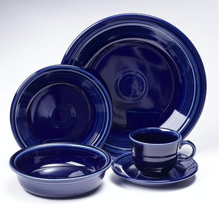 blue fiestaware